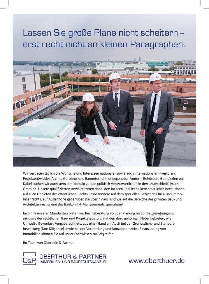 Print Anzeige/ Oberthür Kanzlei für Immobilienrecht