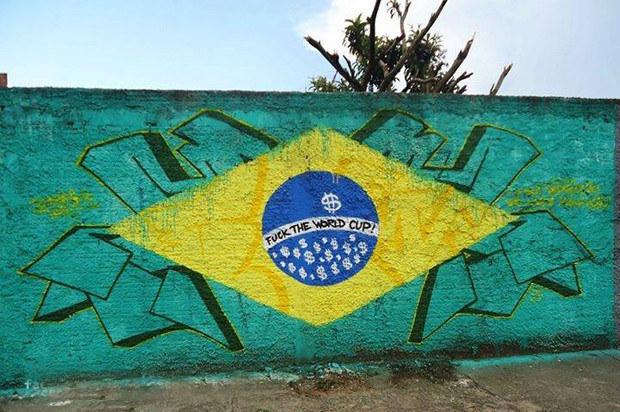 Anti-FIFA-App für Weltmeisterschaft 2014 in Brasilien