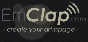 EmClap - Create Your Own Artist Page